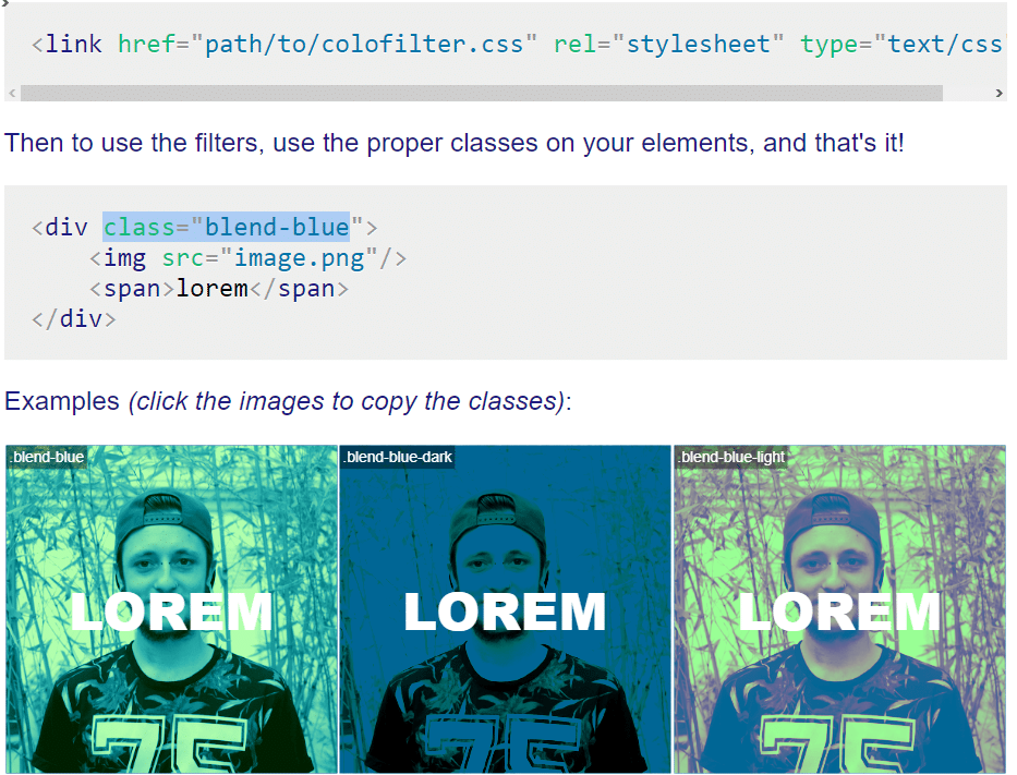 colorfilters