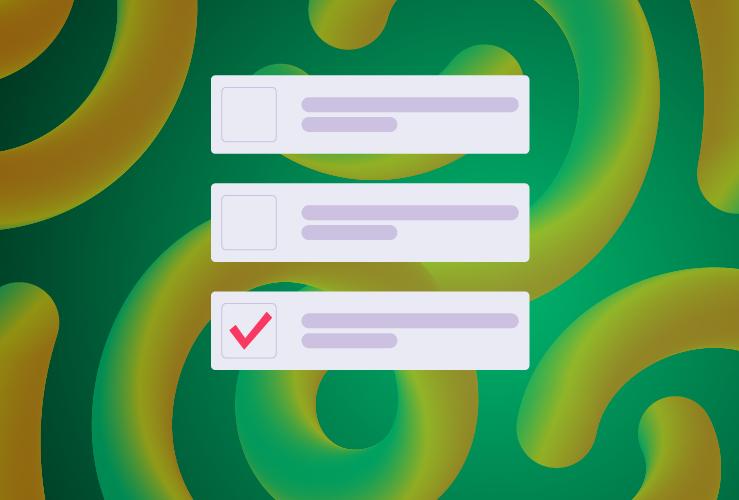 imagen con campos de formulario y check box
